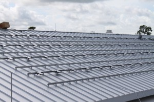 Enphase Microinverters mount directly to Unirac Solarmount Rails
