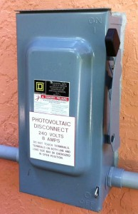 Photovoltaic (PV) Disconnect