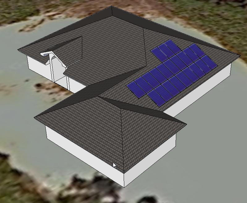 Making 3d solar models from architectural plans solar for Solar plans
