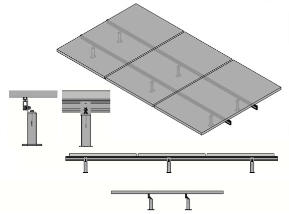 ISO Standoff Attachment3 Sketchup for Solar
