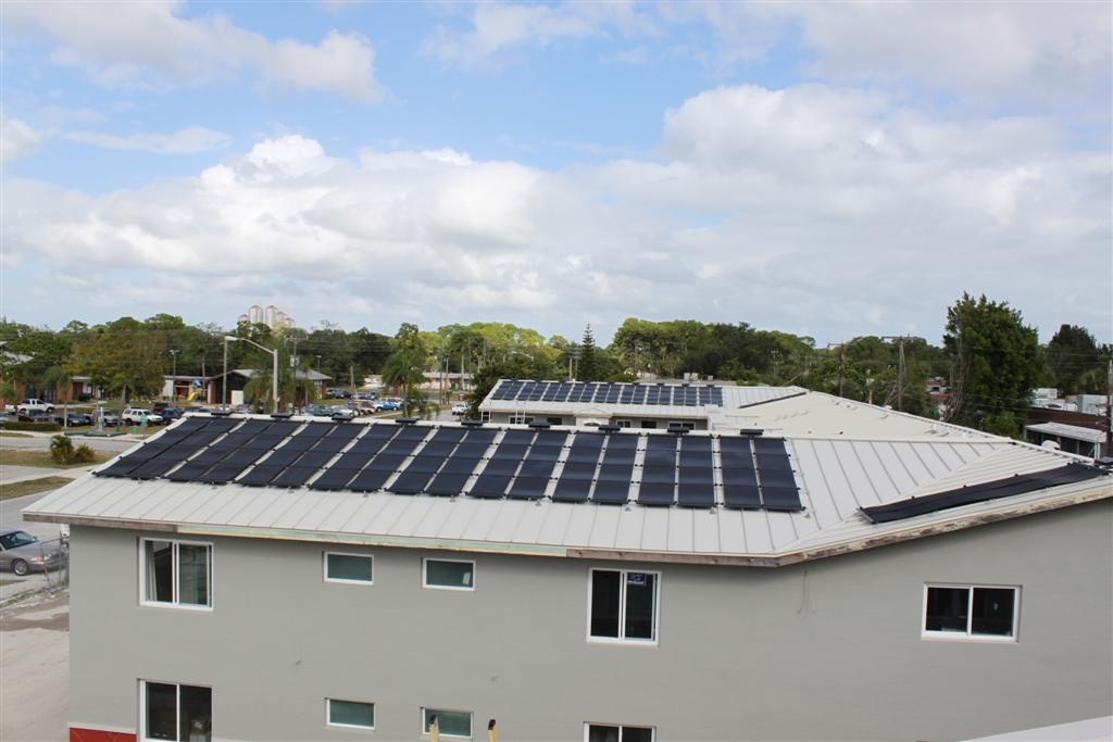 Fort Myers Broadway Apartment Solar Hot Water Progress