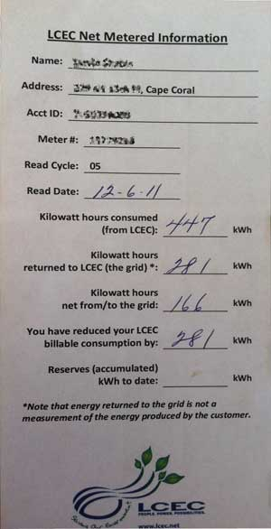 LCEC NetMeter Insert How to Read LCEC Netmetering Bill Inserts