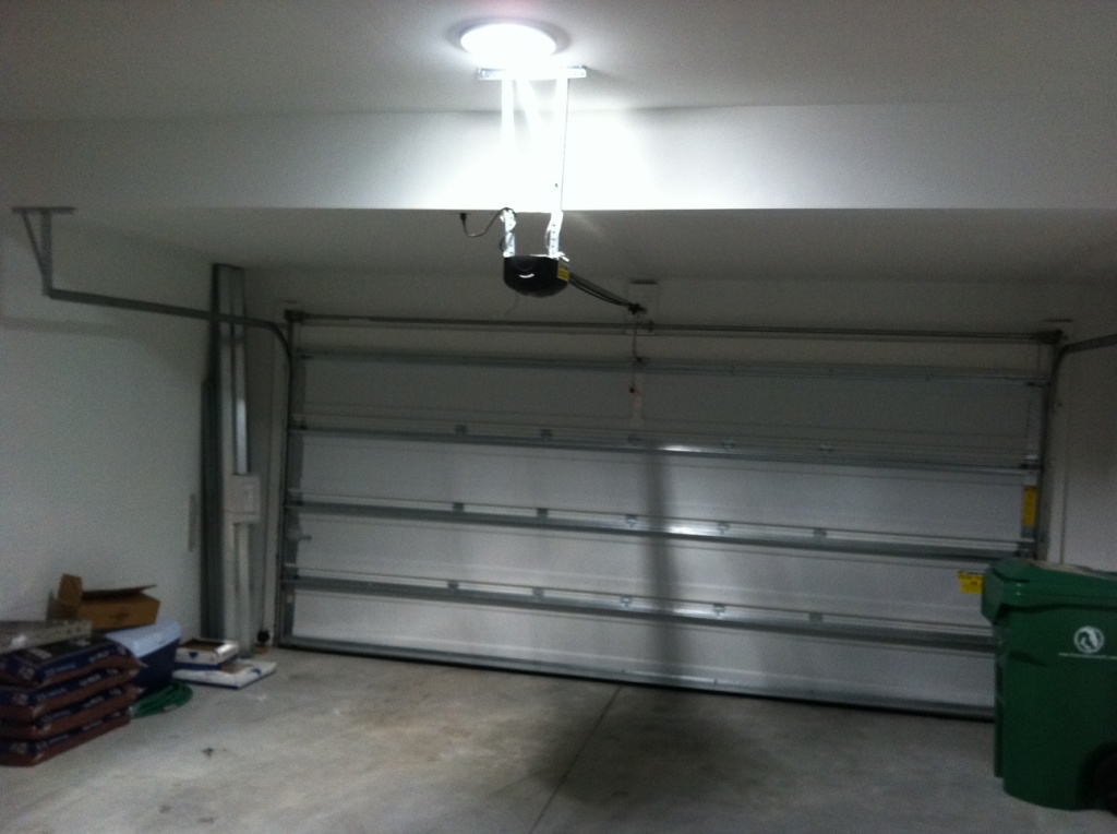 Solar Tubular Skylight in Garage