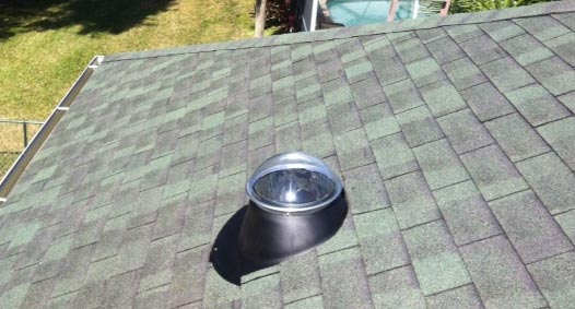 Solar Tubular Skylight Dome Flashing