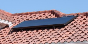 Typical Solar Water Heating Collector