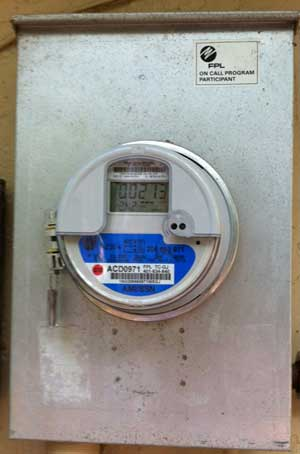 Meter FPL Smart Meters with Solar Energy Systems