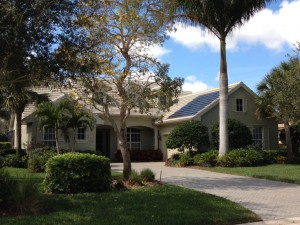 A Bonita Springs home with BIPV
