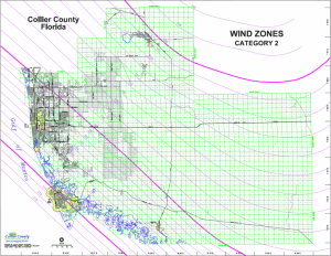 Collier Wind Map Shows Challenges for Solar Panels