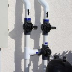 Solar Pool Heat Valves Bypassed (Solar Off)