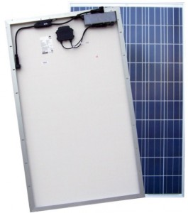 ACPV Solar Module with Microinverter Attached