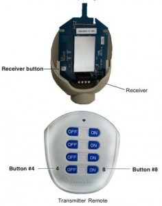 QuickTouch II Remote and Receiver Pairing