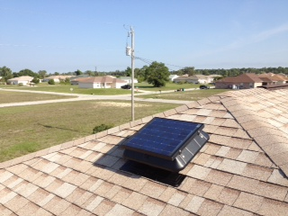 Solar Attic Fan Solar Energy Installers Sweat Out the Summer