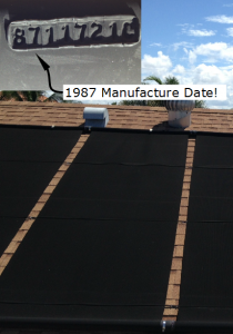 Solar Pool Heating Panels last a long time!