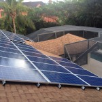 10kW Solar Electric System on South Roof in Fort Myers